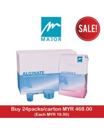 Major Alginmax Fast Alginate (24 packs/Carton)