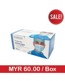 Zenlabb & Pharmasen 3-Ply Disposable Surgical Face Mask