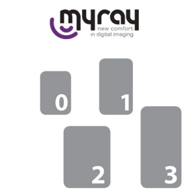 MyRay Phosphor Plates Refill Kit